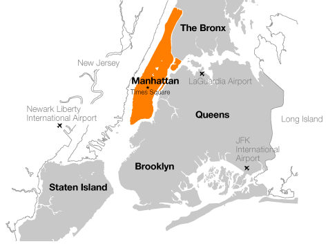 Boroughs NY