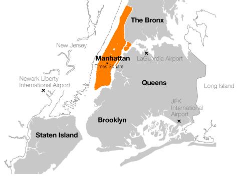 Boroughs NY