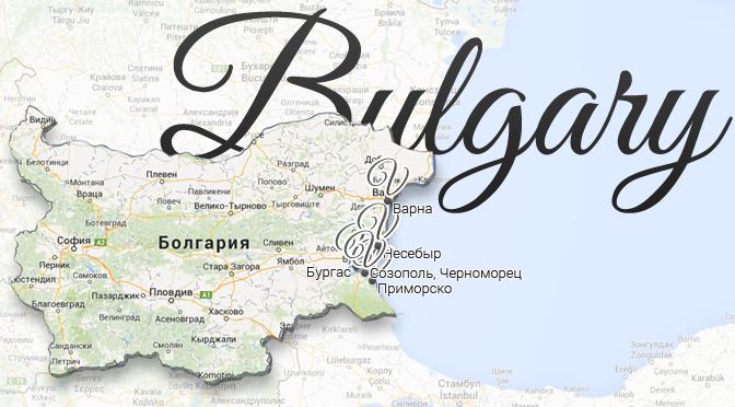 Bulgary Map Viatores