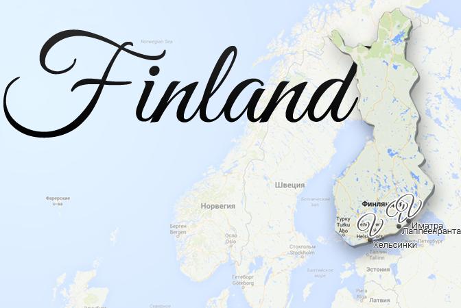 Finland Map Viatores