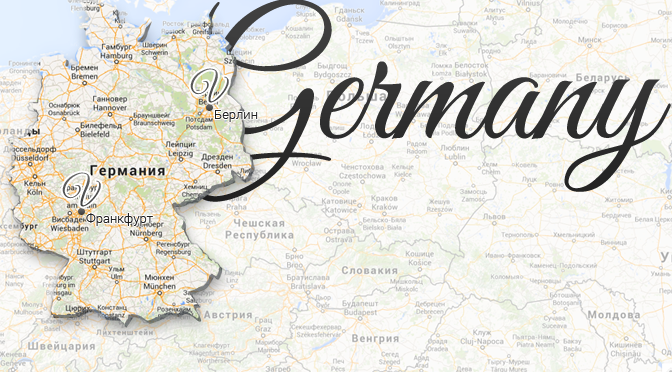 Germany Map Viatores