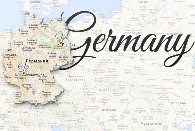 Germany Map Viatores