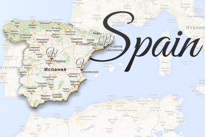 Spain Map Viatores