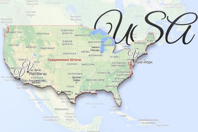 usa map viatores