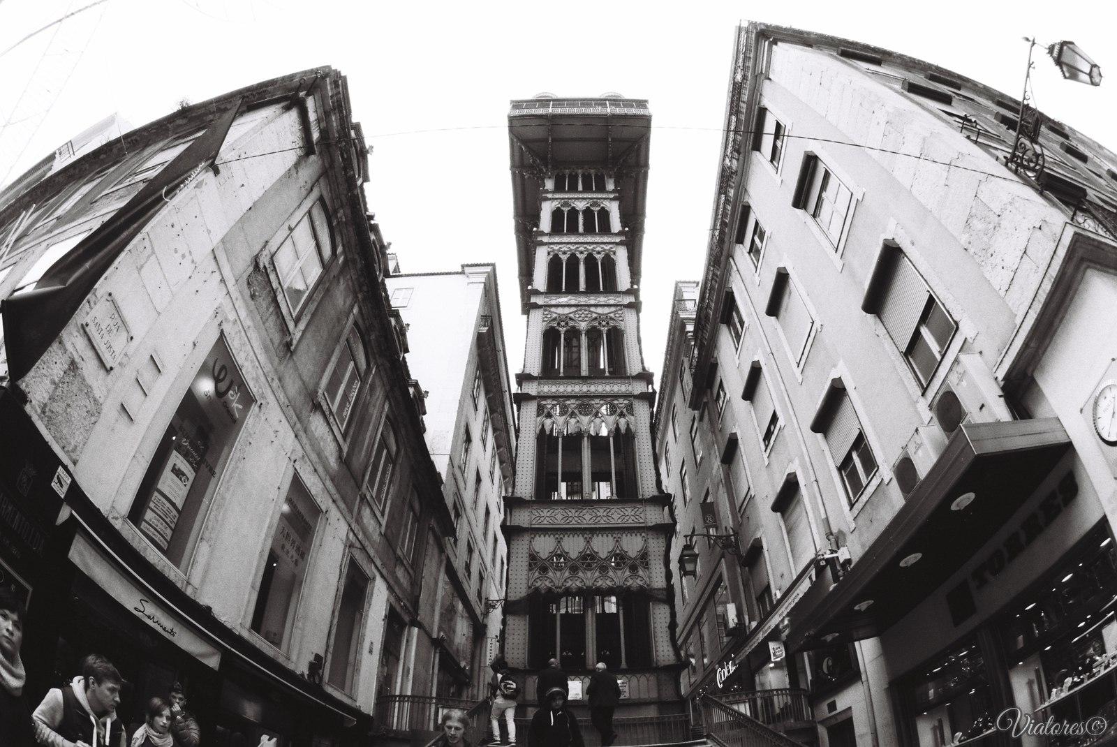 Lisbon (Лиссабон). Santa-Justa