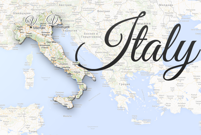 Italy Map Viatores