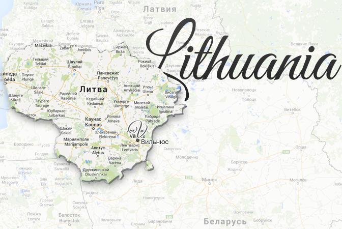 Lithuania Map Viatores
