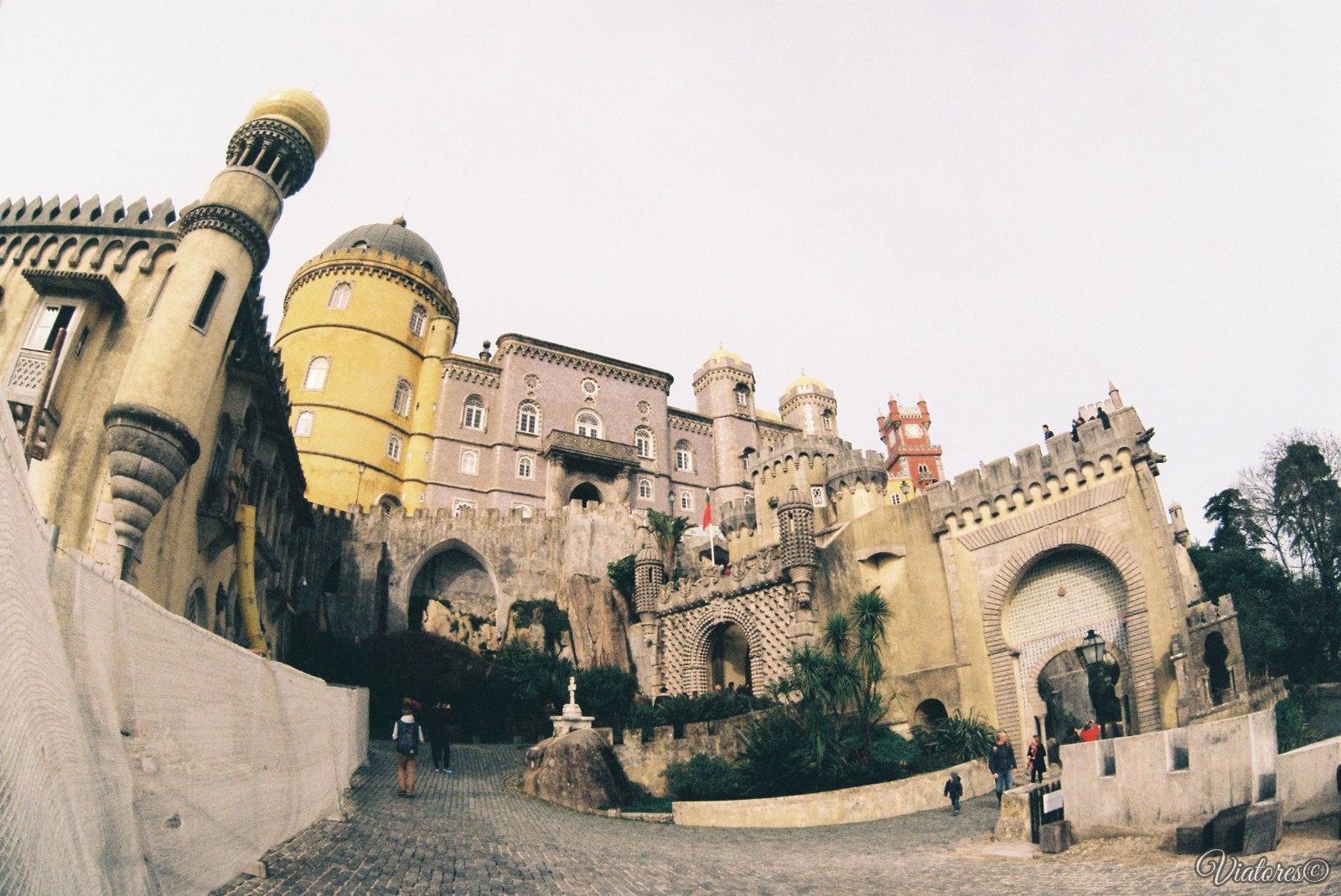 Дворец Пена В Синтре. Португалия