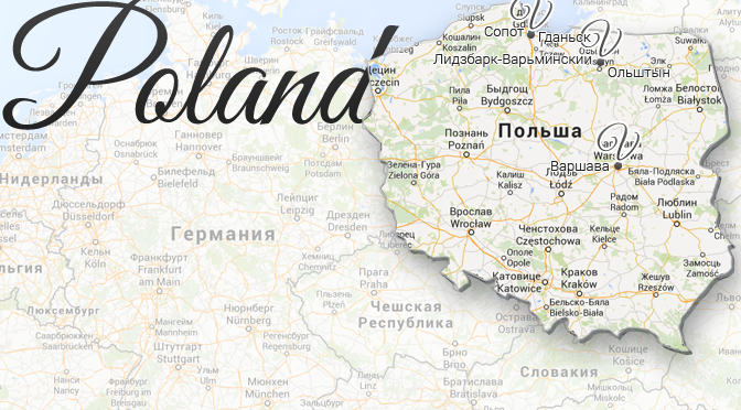 Poland Map Viatores