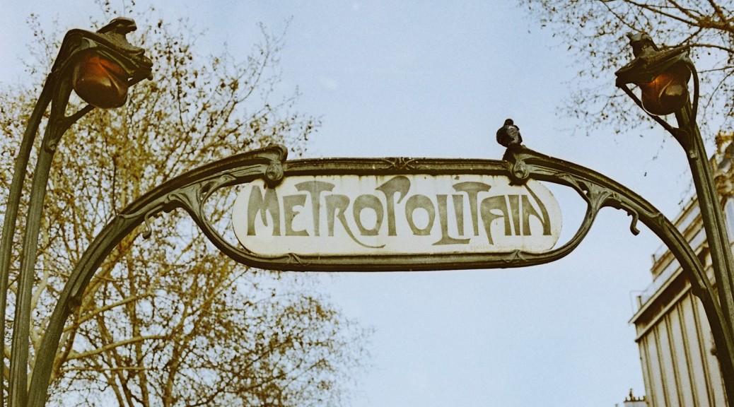 Metropolitain. Paris. France