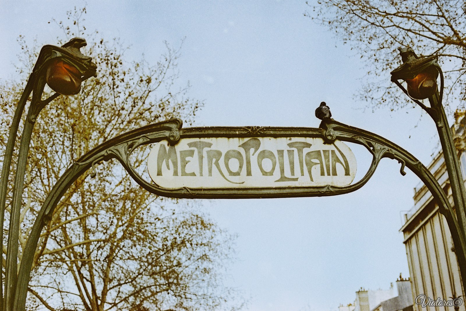 Metropolitain. Paris. France