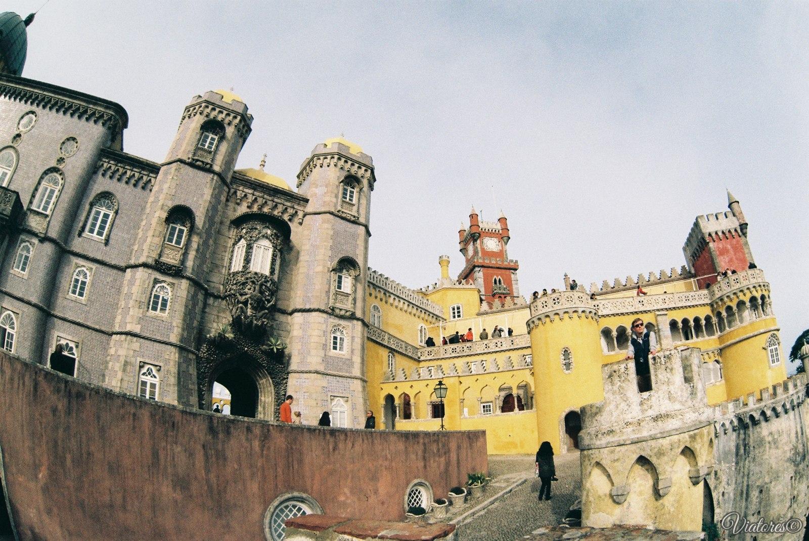Дворец Пена в Синтре.