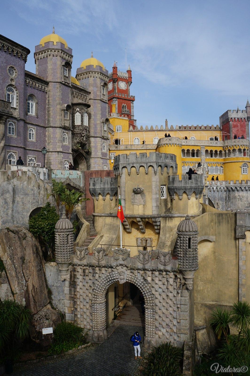 Португалия. Дворец Пена В Синтре.
