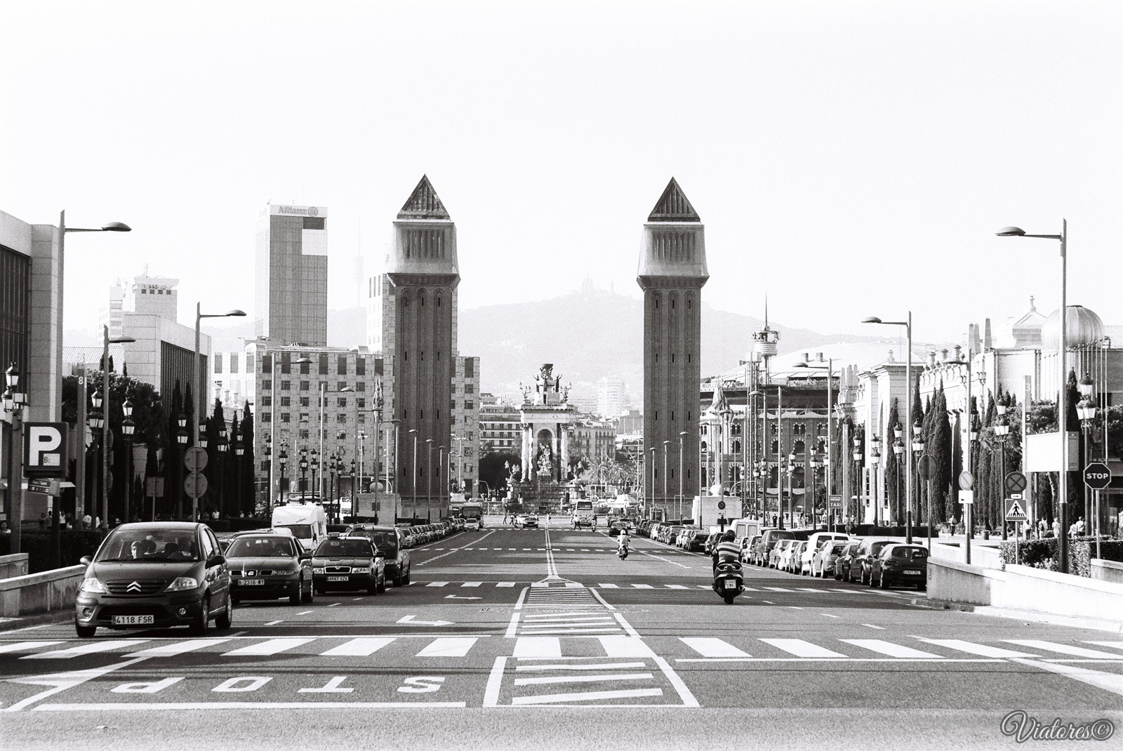 Plaça d'Espanya. Barcelona. Spain