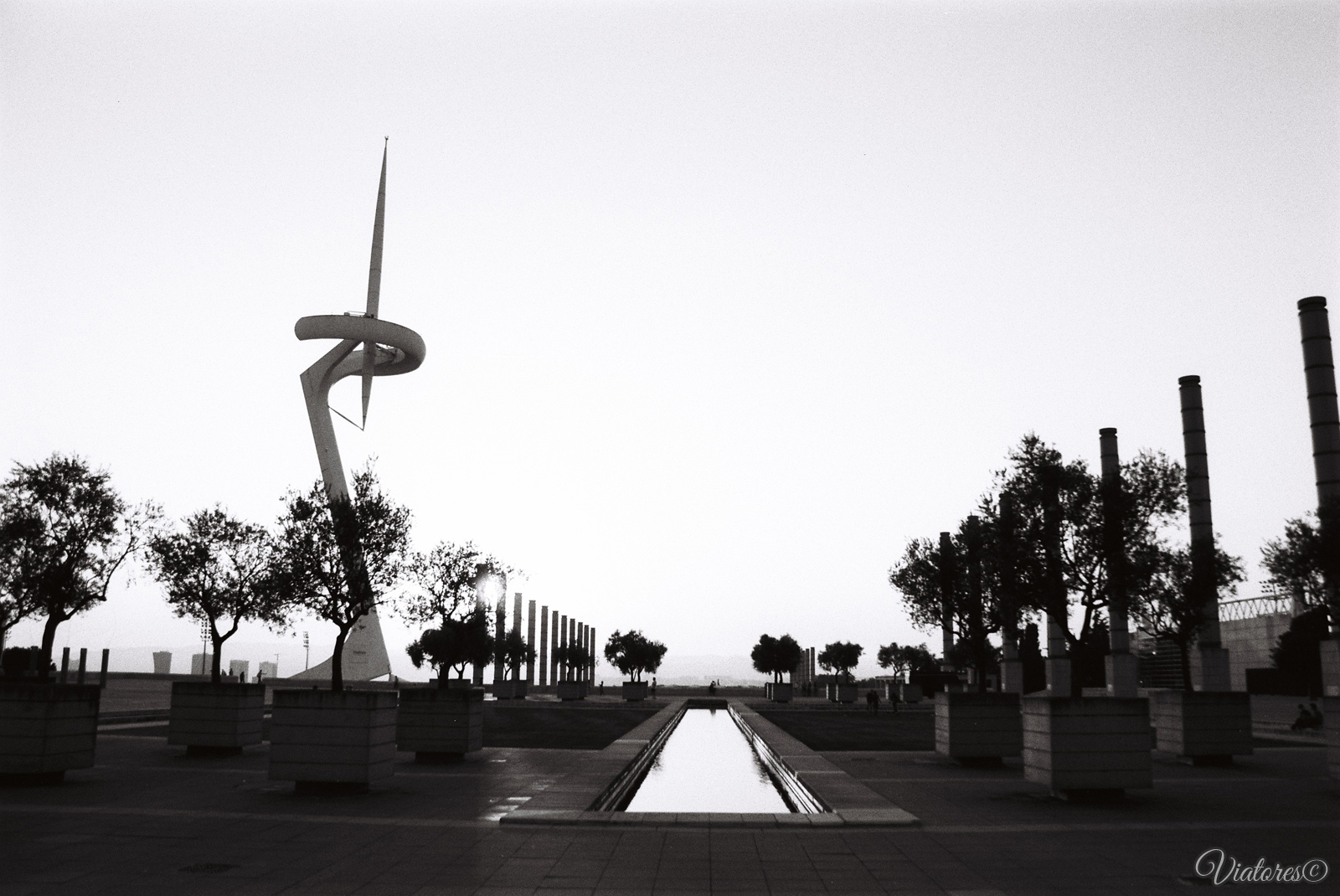 Torre Telefonica. Barcelona. Spain