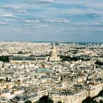 View from La tour Eiffel. Paris. France