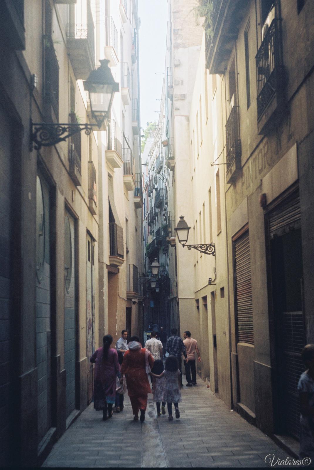 Barri Gotic. Barcelona. Spain