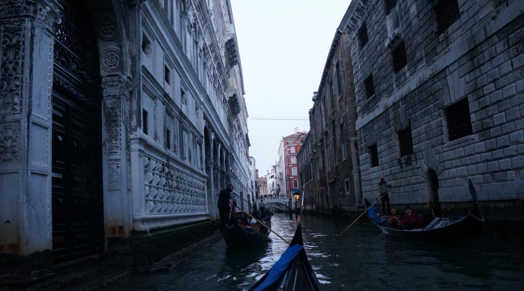 Venice chanels. Venice. Italy