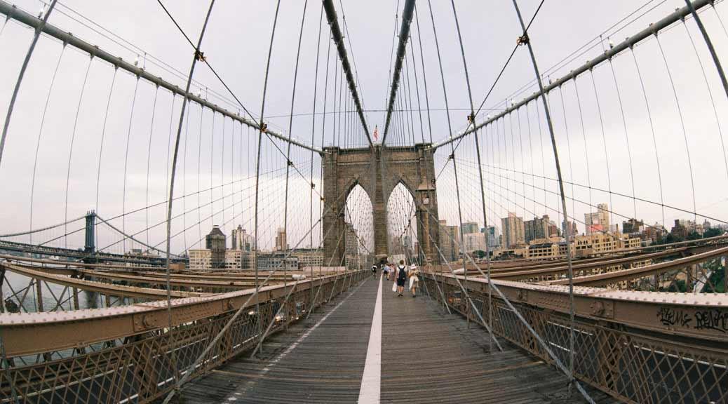 Brooklyn Bridge. New York. USA