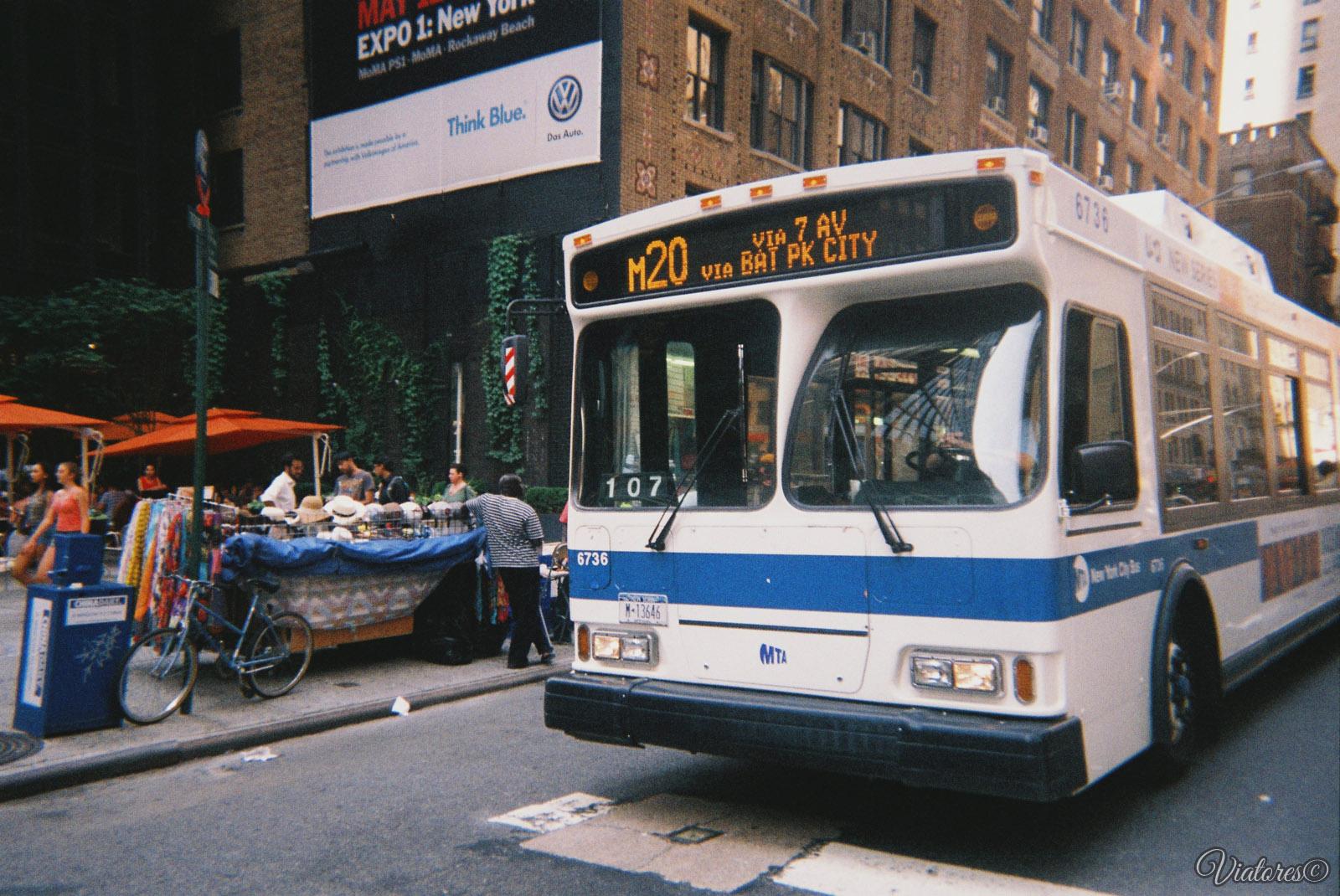 New York bus. New York. USA