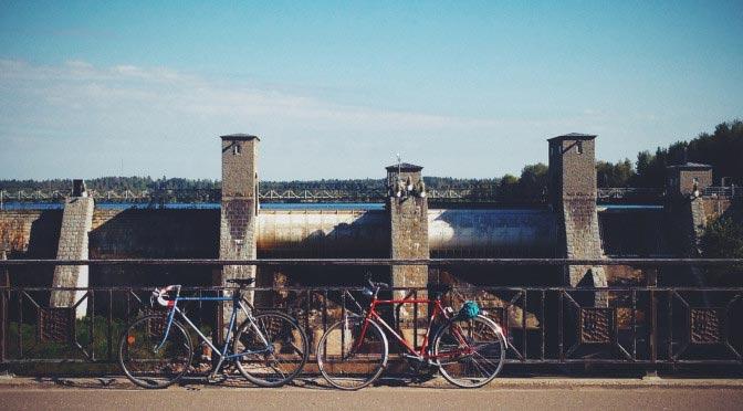 Рассказ о поездке в Иматру и Лаппеэнранту на велосипедах
