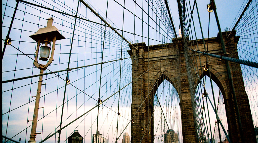 Brooklyn Bridge. New York. USA