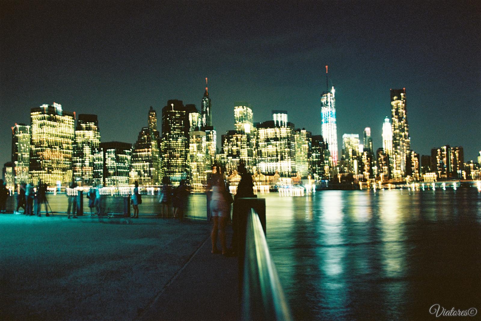 Nigth Manhattan. New York. USA