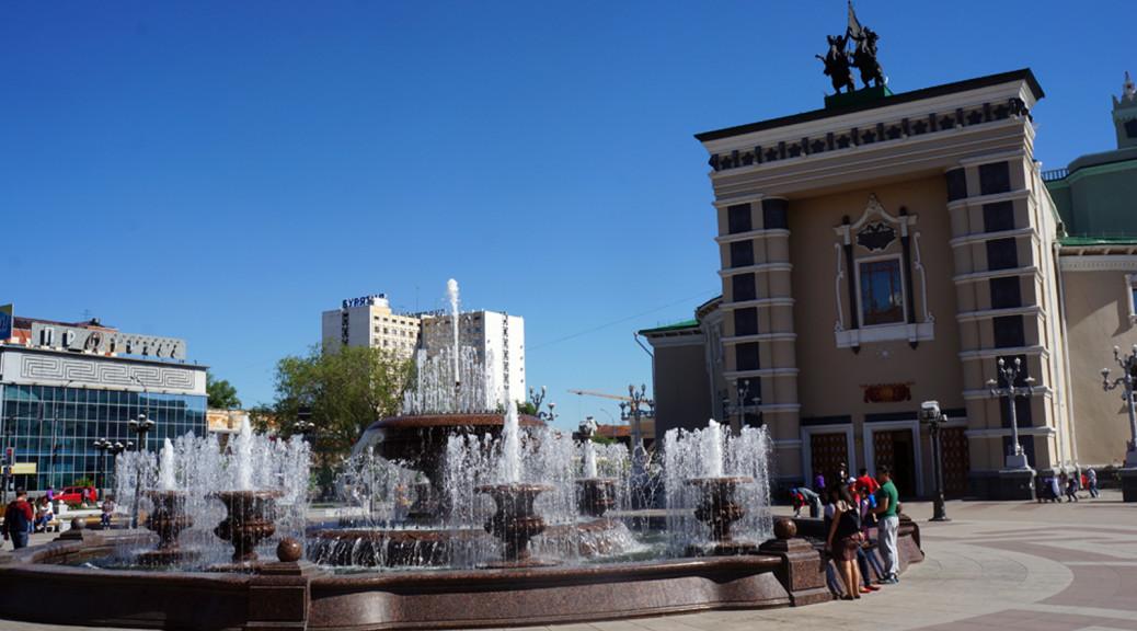 Ulan-Ude. Russia.