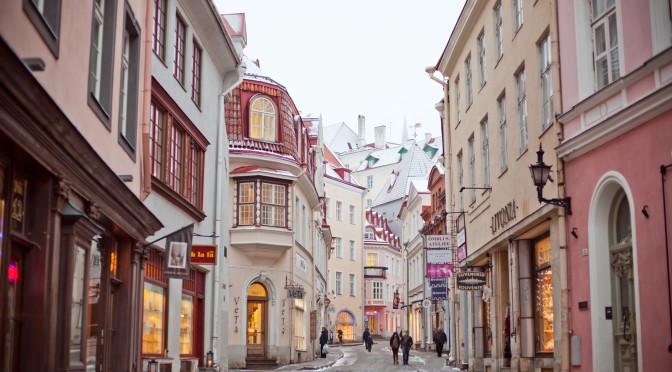 Таллин (Эстония). Tallin (Estonia). 2013