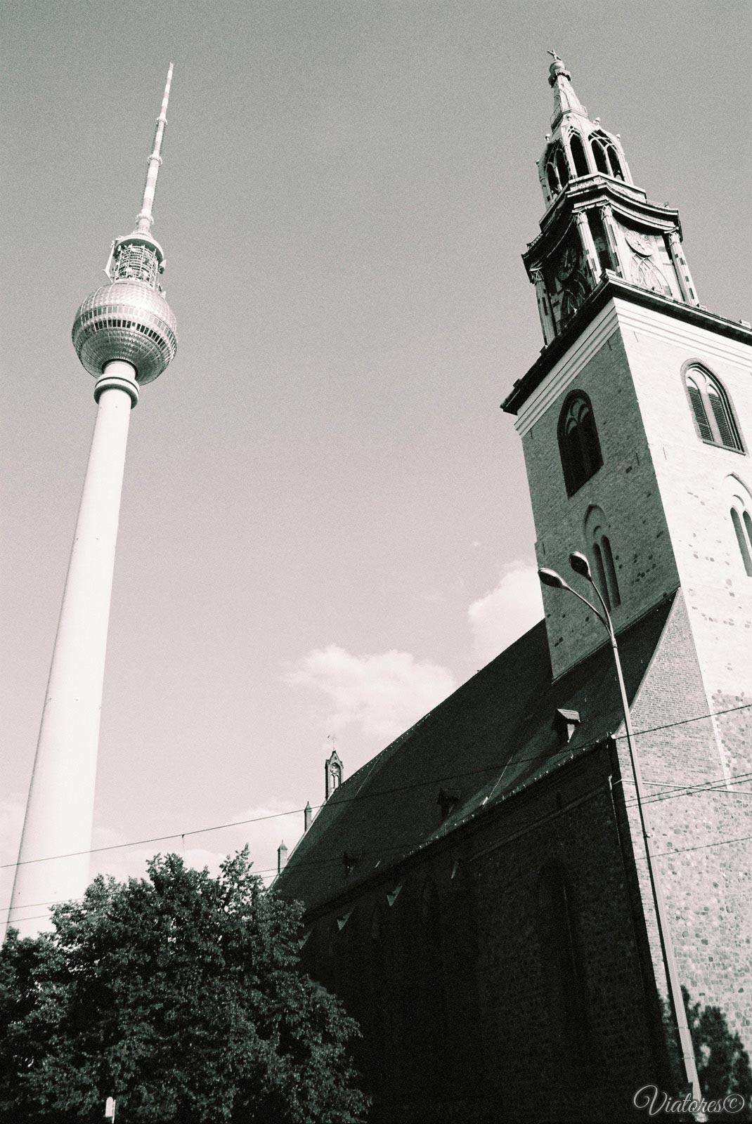 Berliner Fernsehturm. Berlin. Germany