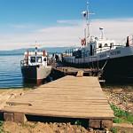 Чивыркуйский залив. Катера