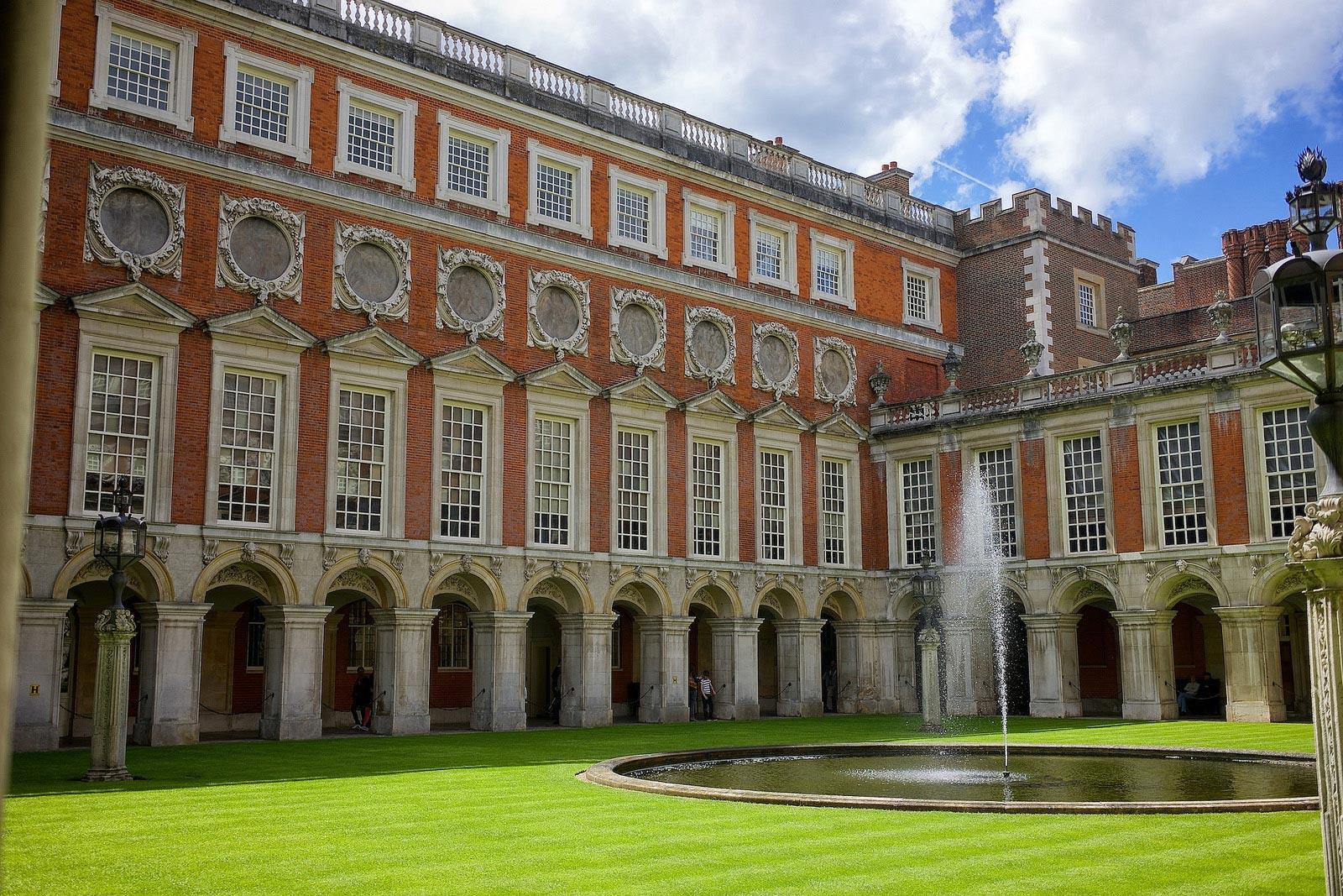 Hampton Court. London. England