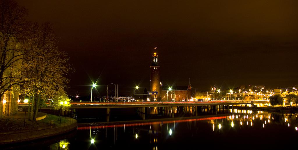 Городская Ратуша Стадсхюсет (Stadshuset)