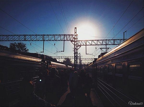 Выборг. Вокзал.