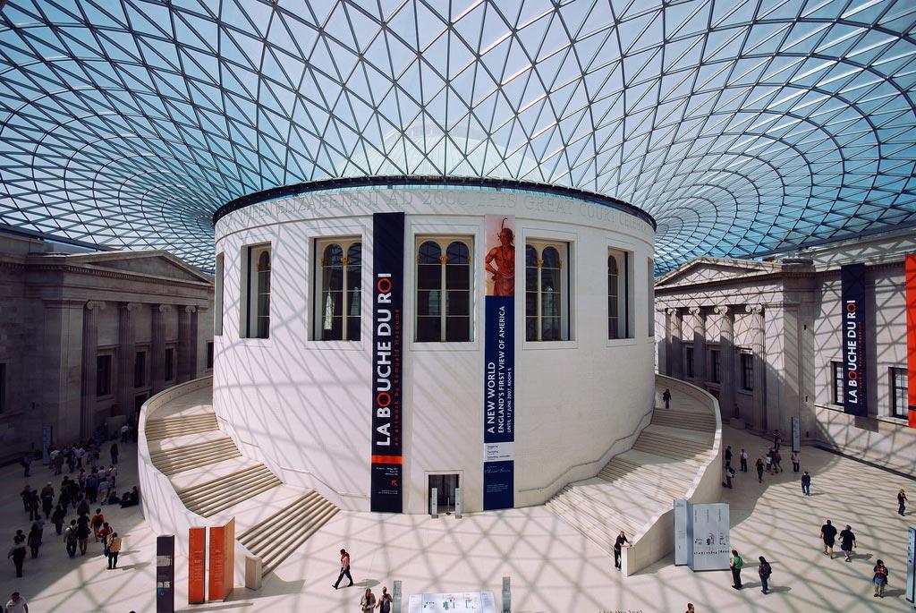 The British Museum. London. England