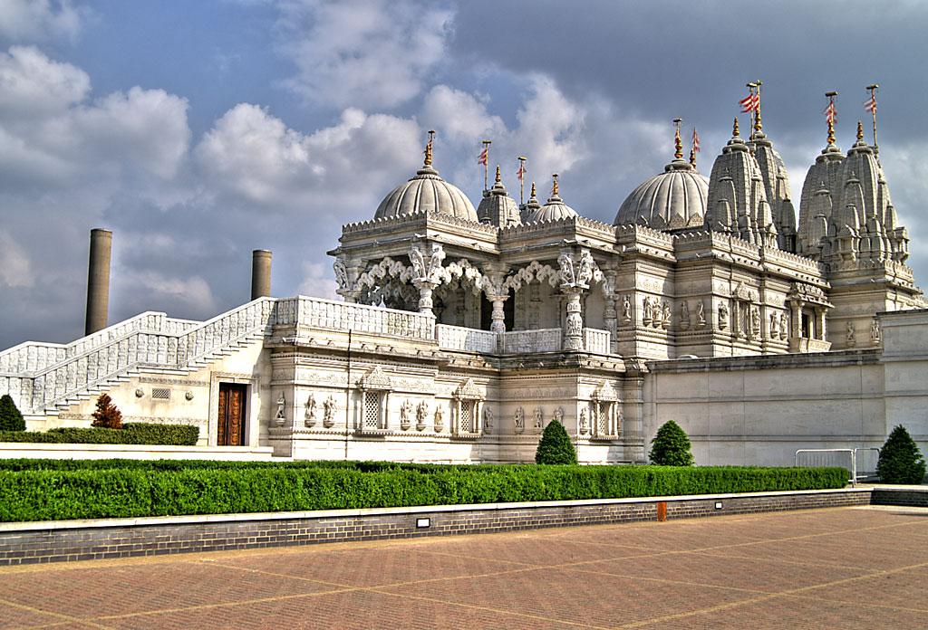 Shri Swaminarayan Mandir. London. England