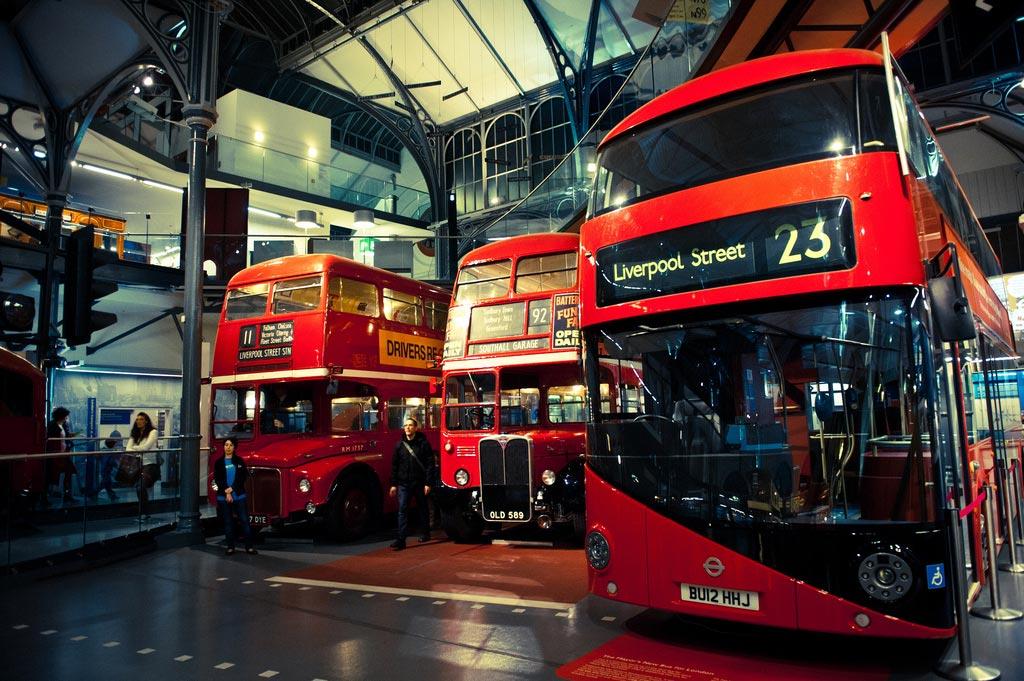 London Transport Museum. London. England