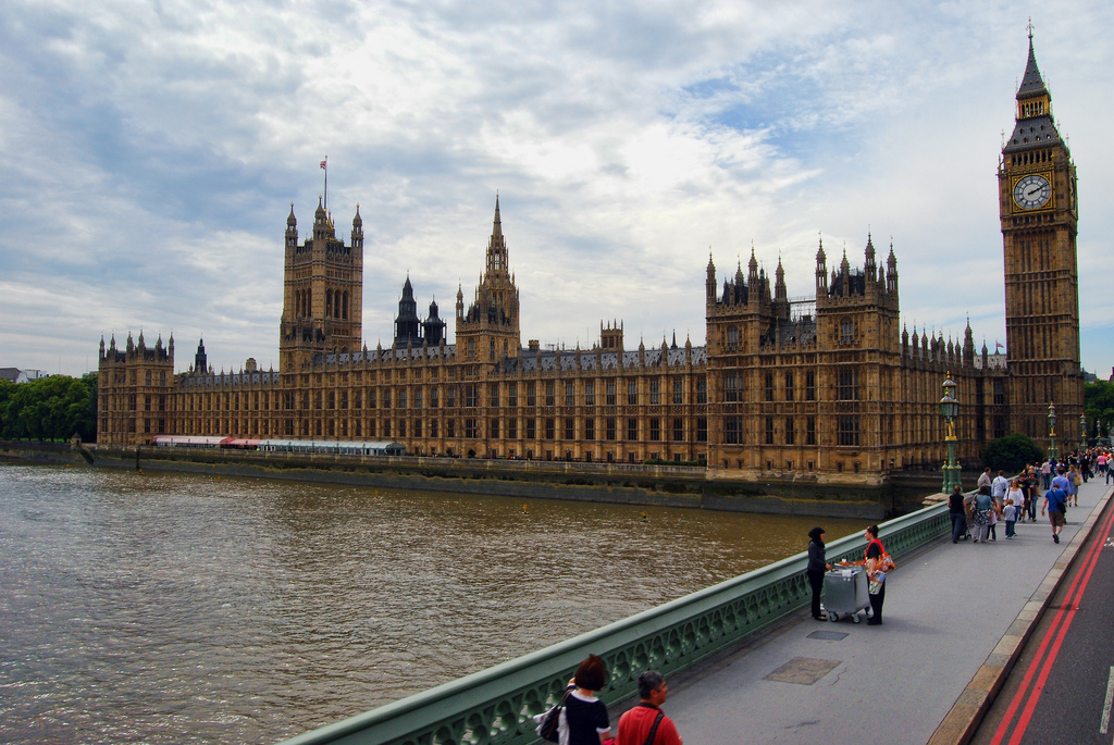 Palace of Westminster. London. England