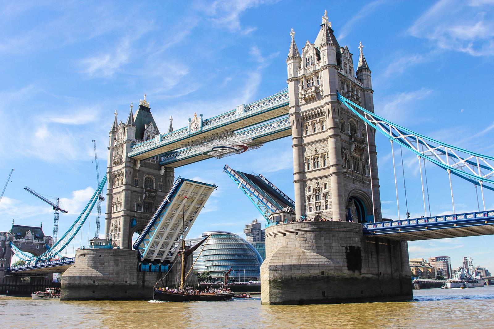 Tower Bridge. London. England