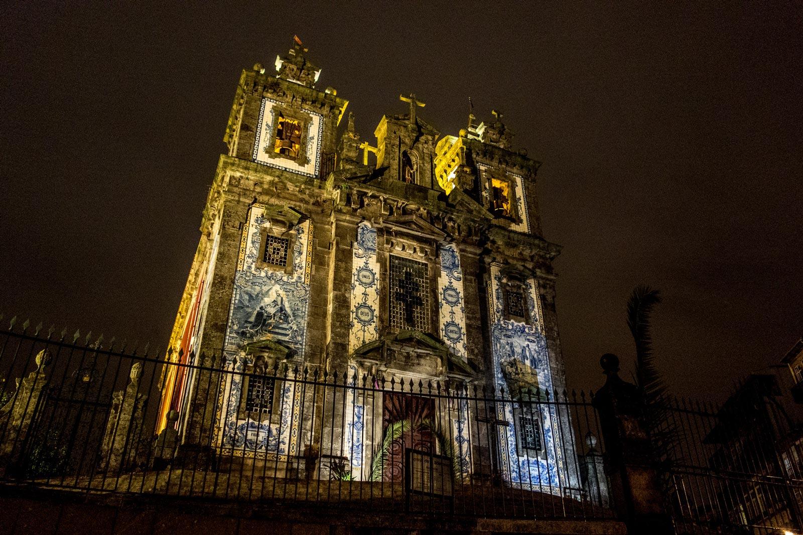 Church of Saint Ildefonso. Porto. Portugal