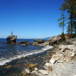 Baikal. Buryatia. Barguzinskii zaliv