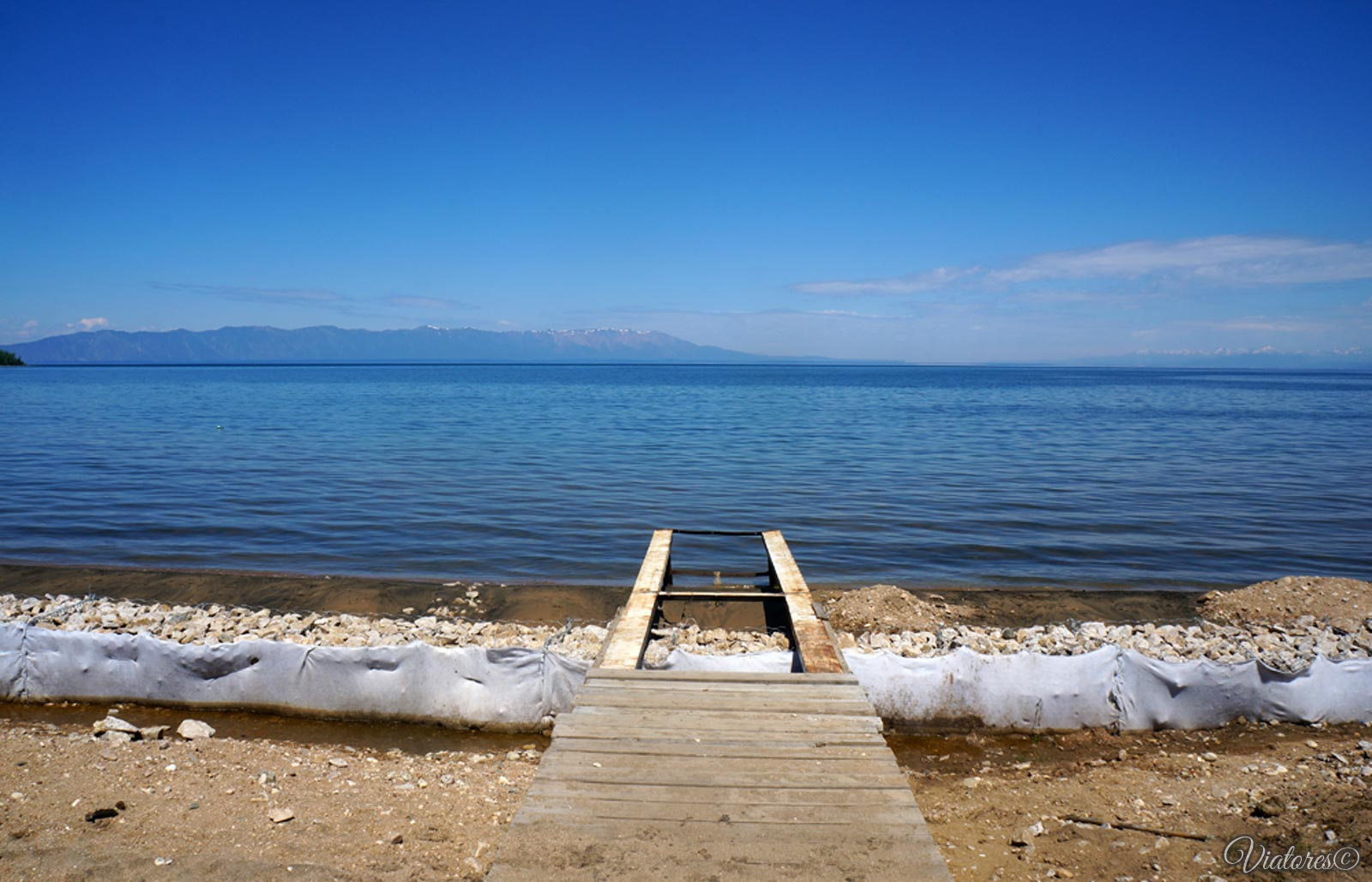 Бухта Максимиха. Баргузинский залив