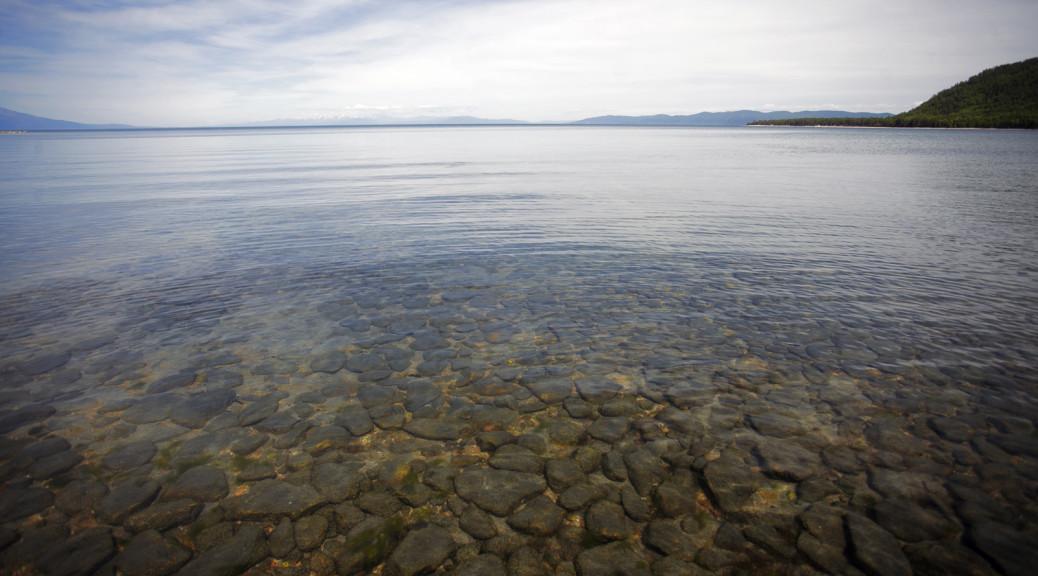 Баргузинский залив. Байкал.