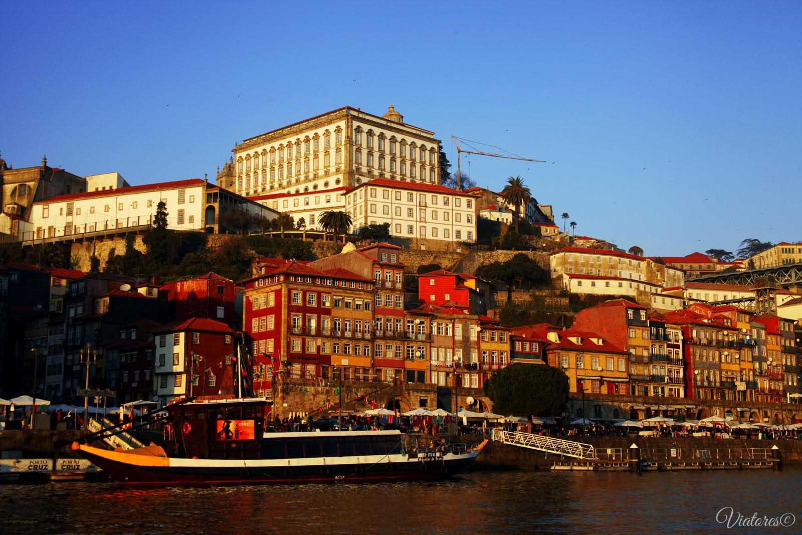 Cais da Ribeira. Porto. Portugal