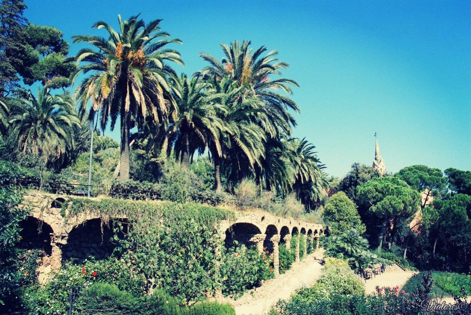 Park Guell. Barcelona. Spain