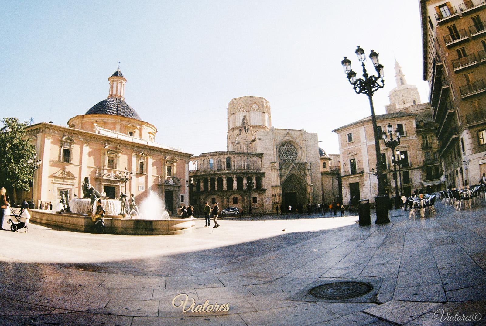 Plaza de la Virgen. Valencia. Spain
