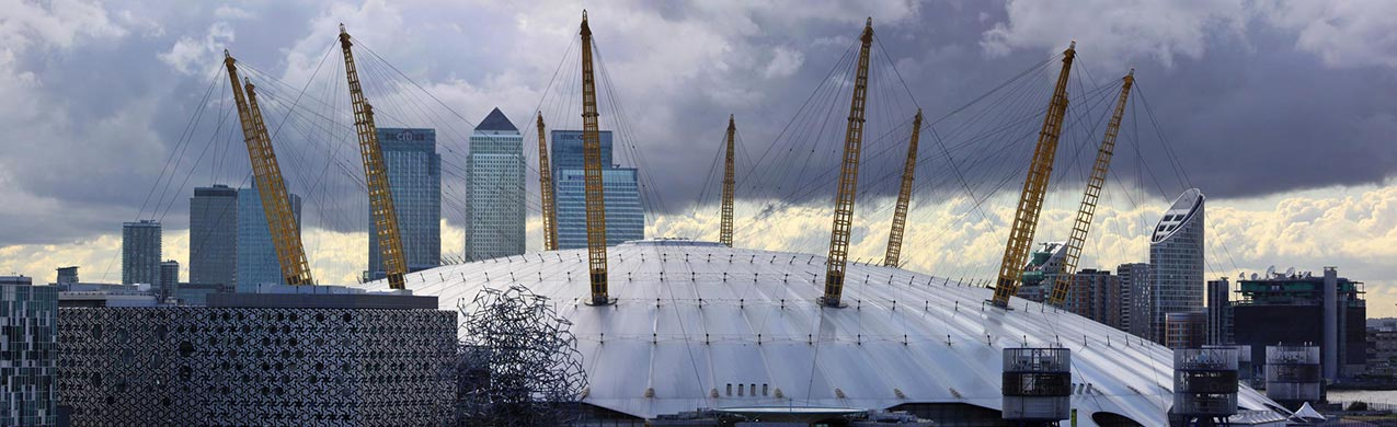 The O2 Arena. London. England