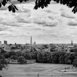 The view from Hampstead Heath. London. England