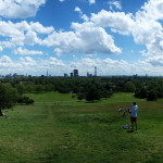 The view from Primrose Hill. London. England