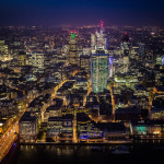 The view from the Shard. London. England